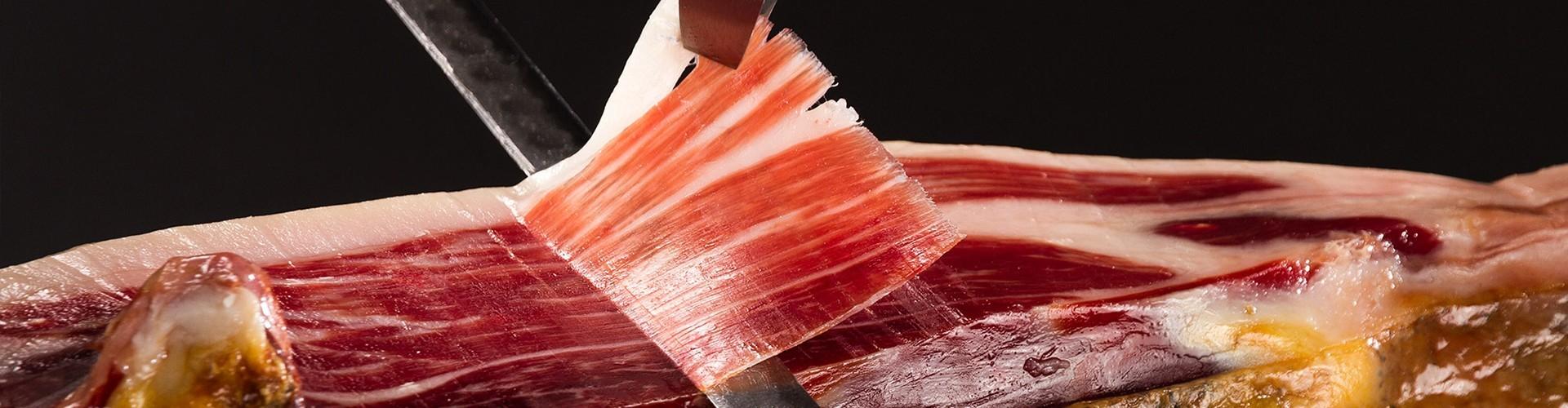 Paleta de bellota 75 ibérica etiqueta roja dehesa de extremadura